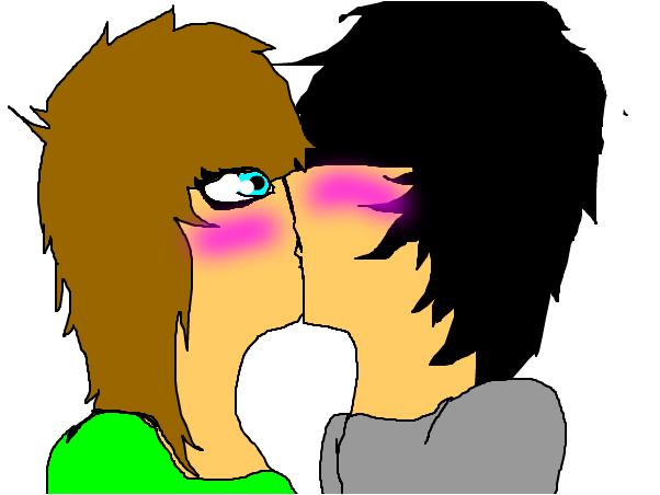 first kiss Bluefreak<3