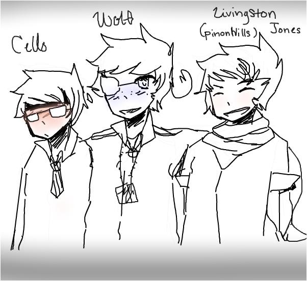 My male characterss
