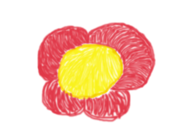 Worst flower drawing eva