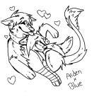 Aiden x Blue Heart