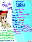 About Tyler. ~Star