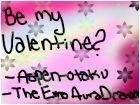 Zachery, be my valentine??