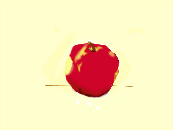 Who Bit My Uglier Than Shit Homegrown Apple?