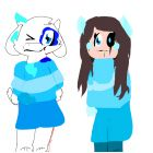 (My AU!) BlueBerryTale Azzy And Chara!