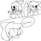 Cross! Temmie comic part 4