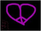 PEACE HEART$$$$$$$$$