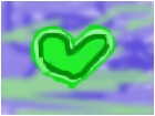 Random Green Heart
