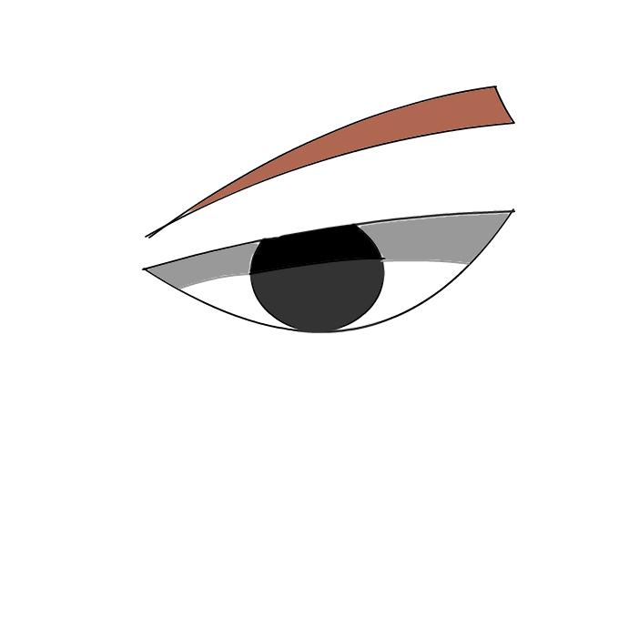 choji's eye