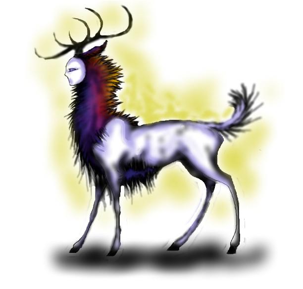 Deer spirit.