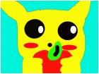 Pikachu stole my apple