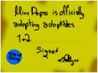 Adoption certificate