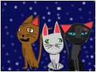 Lionblaze, Dovewing,and Jayfeather