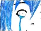 crying miku scribble
