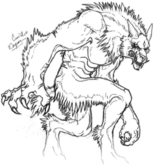 The night of werewolf.