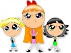 the anime powerpuff girls