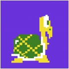 Pixelated Koopa Troopa