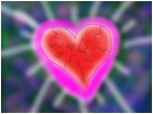 glowing heart of stone