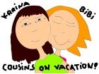 Cousins on vacation