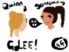 Quinn + Santana from Glee cat fight!!!!!