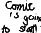 Comic is going to start