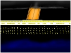 The Titanic Sailing At Night