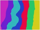 rainbow 's r in the air