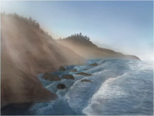 Ecola State Park at Sunrise