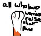 Hi Im Redstar all who loves warriors raise paw!