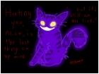 (slightly evil) Cheshire Cat