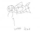 Mermaid with Wet Hair