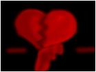 Broken Heart Tee Hee >;3