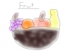 the fruit