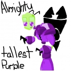 almighty tallest purple
