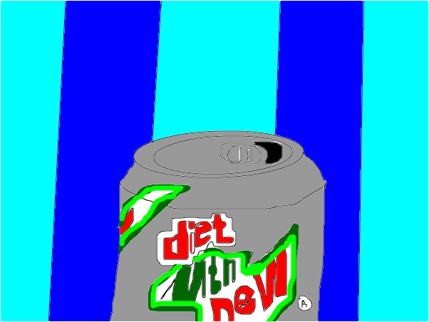 mnt dew pop can