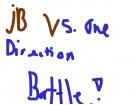 jb vs one direction!!! <3