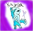 This is my fursona kayla