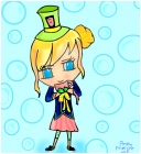 Chibi Mad Hatter Girl