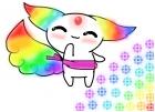 Rainbow Chibi Monster