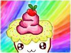 Cute Rainbow Cupcake :)
