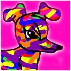 Rainbow Dog