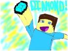 DIAMOND(minecraft fan art)