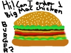 Big Mac chicken burger!