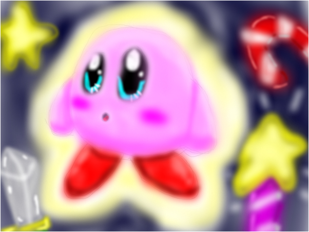 kirby in a parralell world