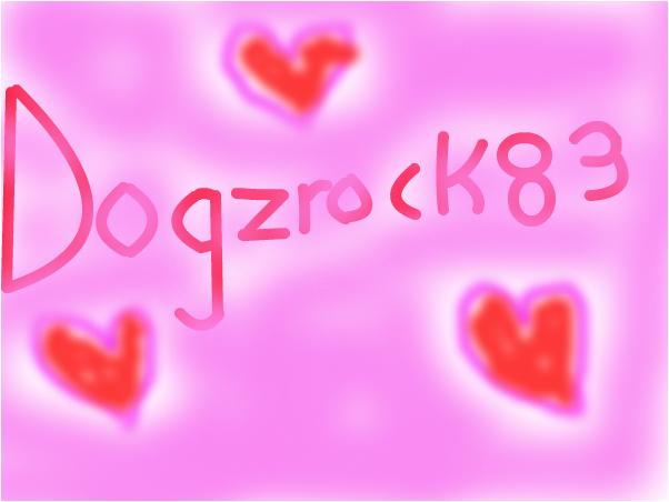 for Dogzrock83!