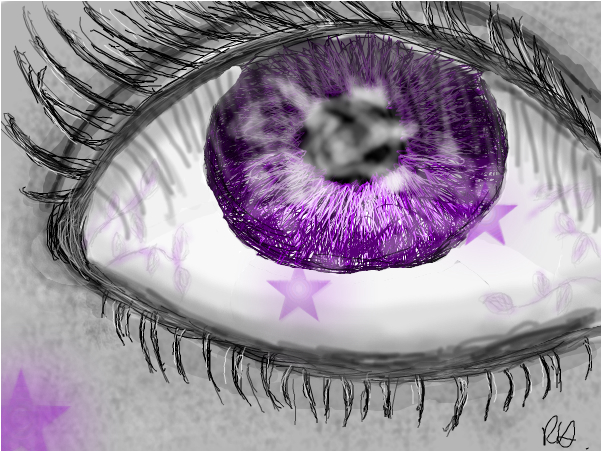 Purple Vines