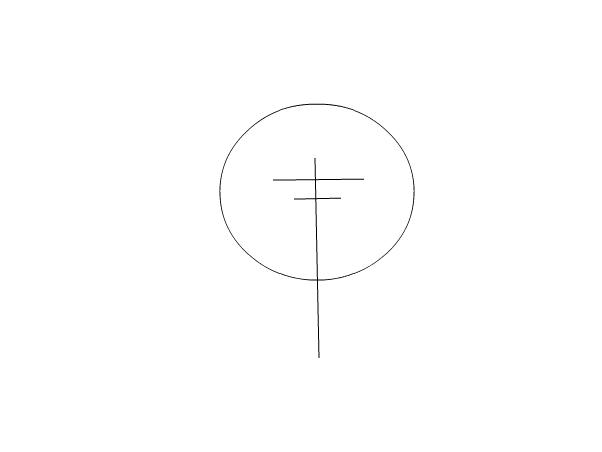 How to draw Ke$ha Step 1
