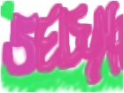 a doodle of my name