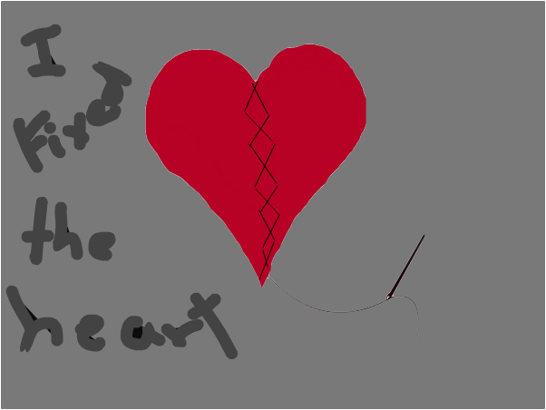 broken heart ...fixed!