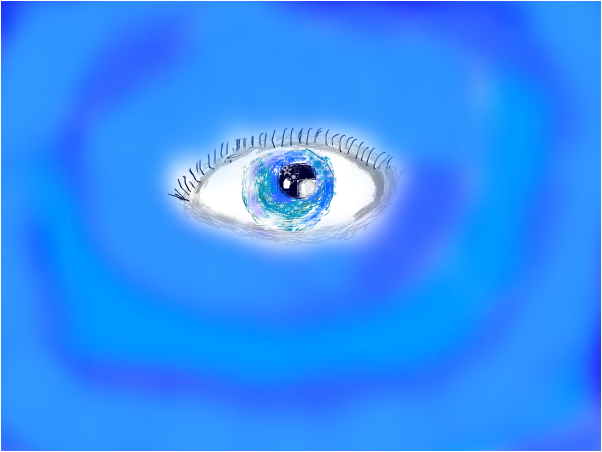 sparkley eye