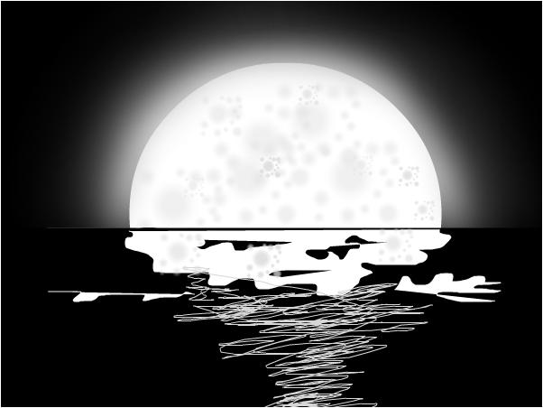 A pretty bad moon XD